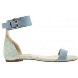Shoevita - Flat Sandal Azul
