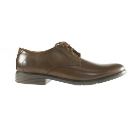 Clarks - Becken Lace Dark Tan