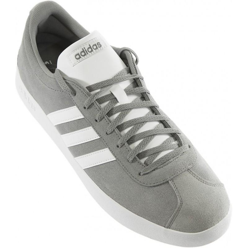 Adidas - VL Court 2.0 Gris