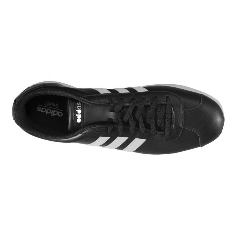 Adidas - VL Court 2.0 Negro Piel