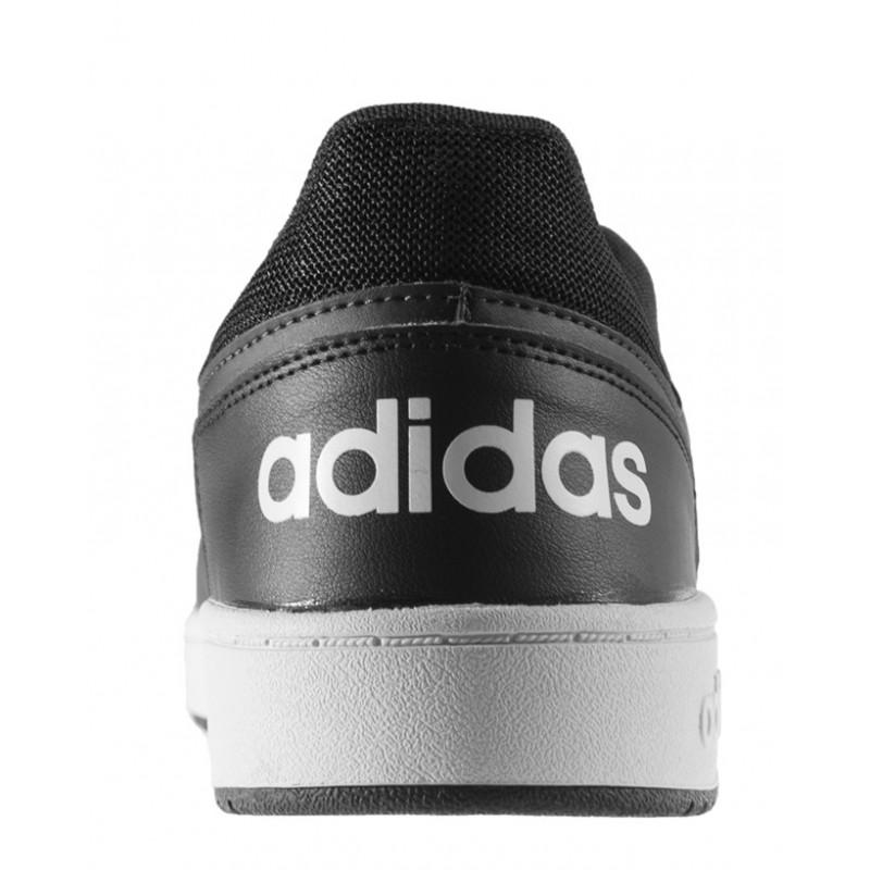 Adidas - Hoops 2.0 Gris Negro