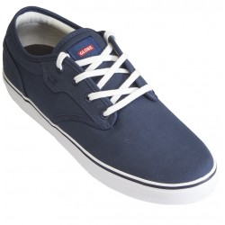 Globe - Motley Blue Canvas/White
