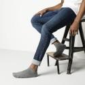 Birkenstock - Pack 2 Cotton Sole Sneaker Gris Melange