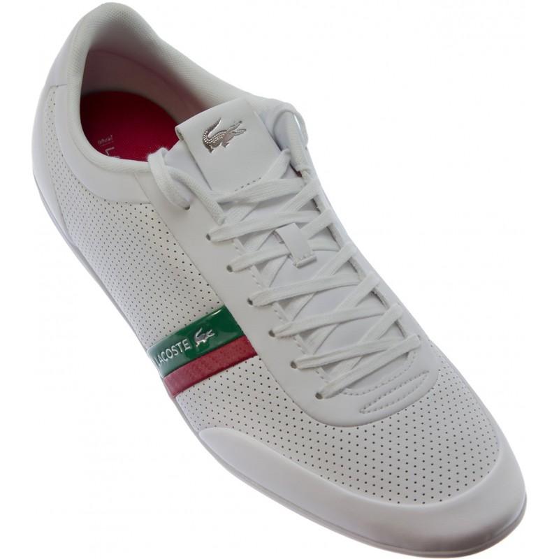 Lacoste - Storda White Green