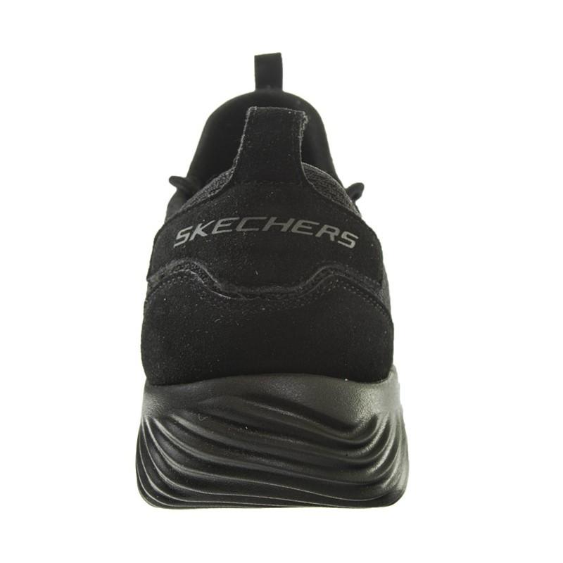 pacífico admiración Dominante  Skechers Bounder Skichr - Zapatillas - Hombre - Negro - Grandes Zapatos