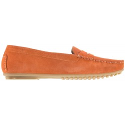 Babouche - Luva - Orange suede